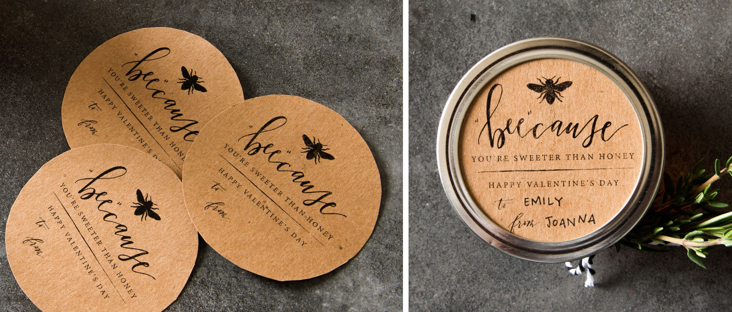 picture about Honey Jar Labels Printable identify Do-it-yourself Honey Jar Valentines At Dwelling: A Weblog as a result of Joanna Gaines
