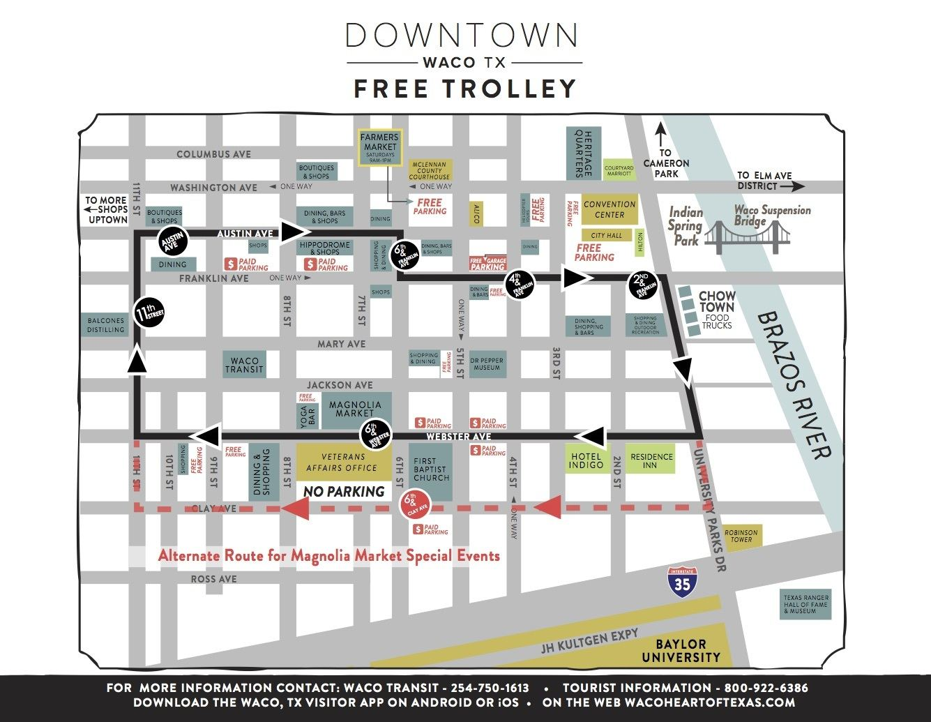 Click to View Silo District Downtown Trolley Route