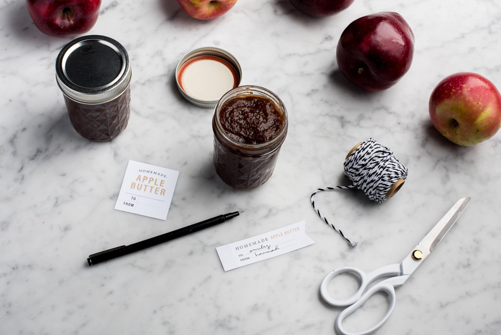 Apple Butter Printable from the Magnolia Journal