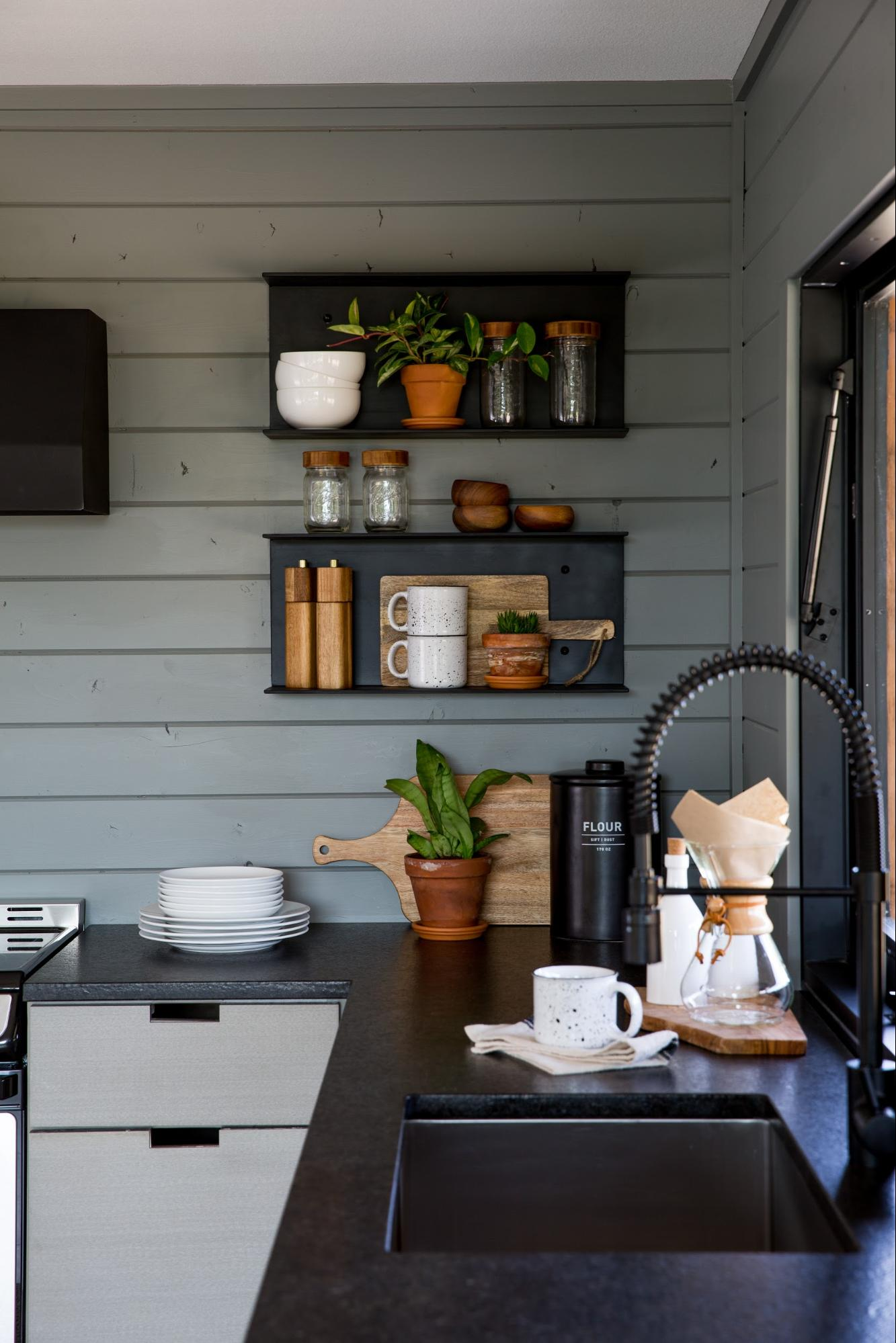 A Technical Guide To Open Shelving Magnolia